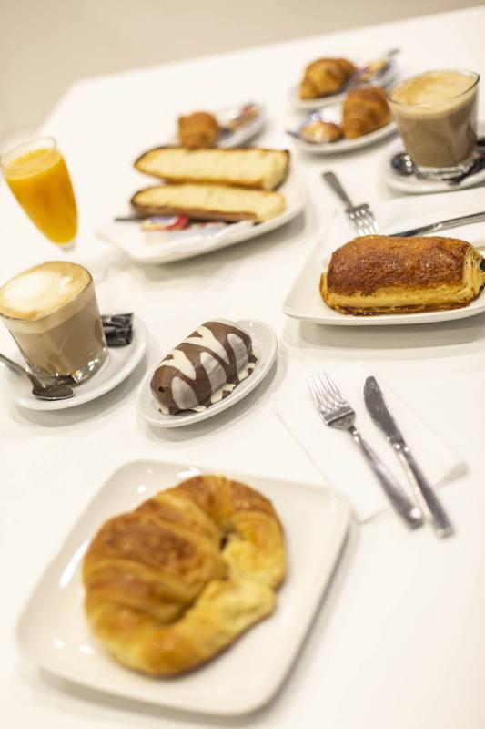 desayuno cafetería